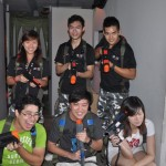 Fort Siloso Laser Tag Party