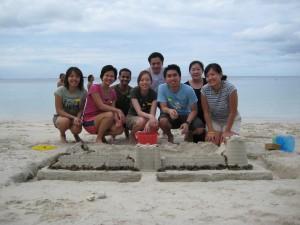 Sandcastle Building Challenge
