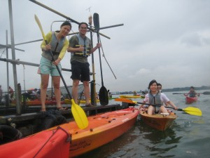 Kayaking to Kelong