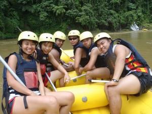 adventure rafting