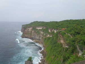 Bali Coast from Cliff