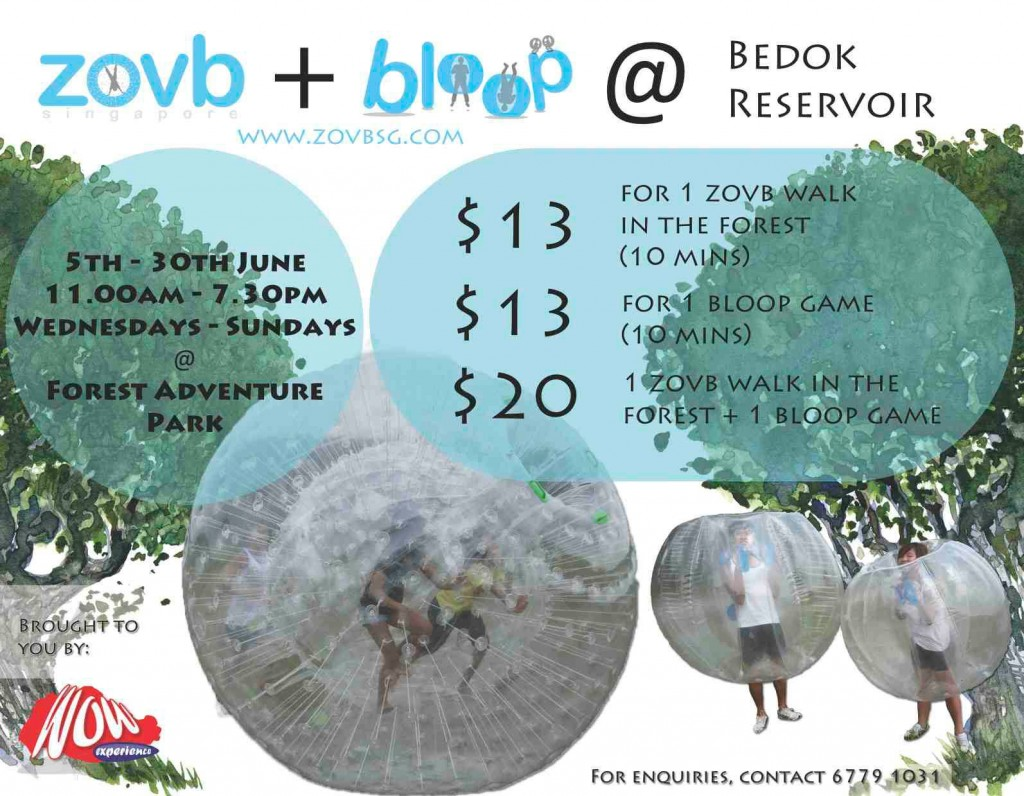 ZOVB at Bedok Reservior