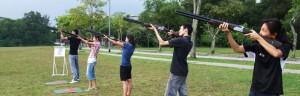 laser target shooting games