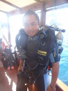 rebreather diving in Komodo