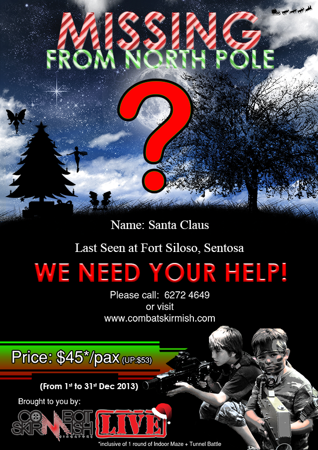Rescue Santa this Christmas!!!