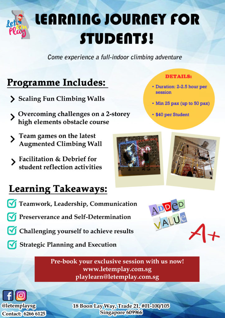 Learning Journey Program for Schools