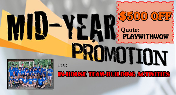 Corporate Teambuilding Promotion