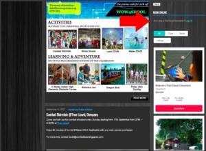 Book WOW Experience activities online