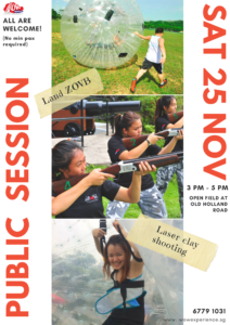 Laserclay shooting and Land ZOVB Public Session