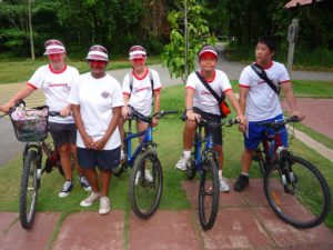 Kids Holiday Cycling Prog