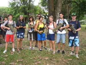 laser tag boot camp