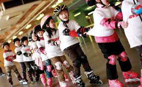 rollerblade course for kids