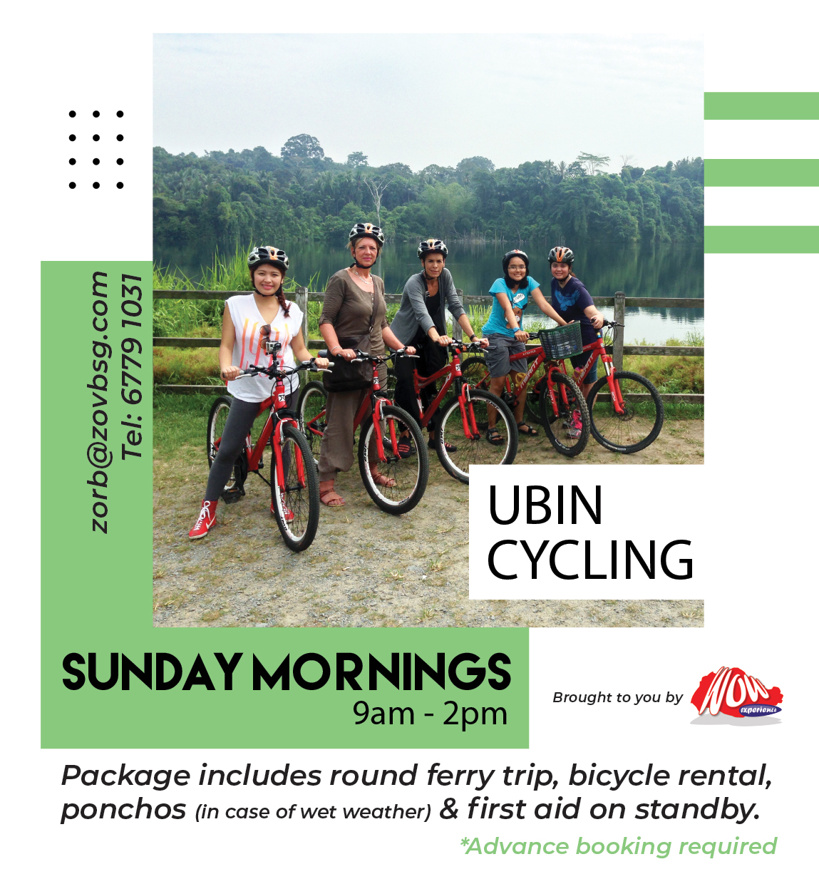 Get Active Go Cycling In Pulau Ubin The Wow Experience Pte Ltd
